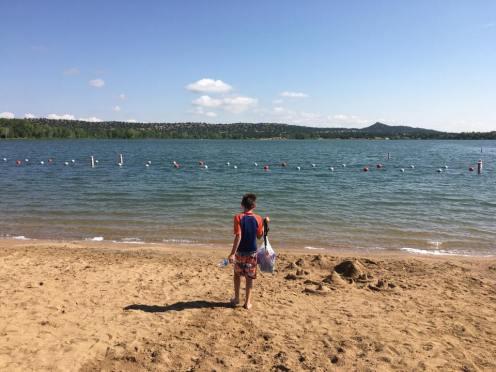 Swimming beach