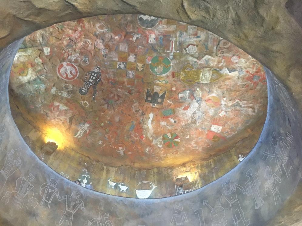 Inside Desert View Watchtower