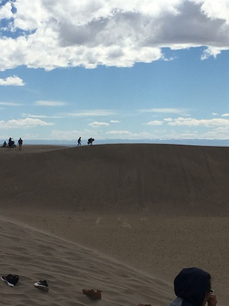 View from one dune to another.