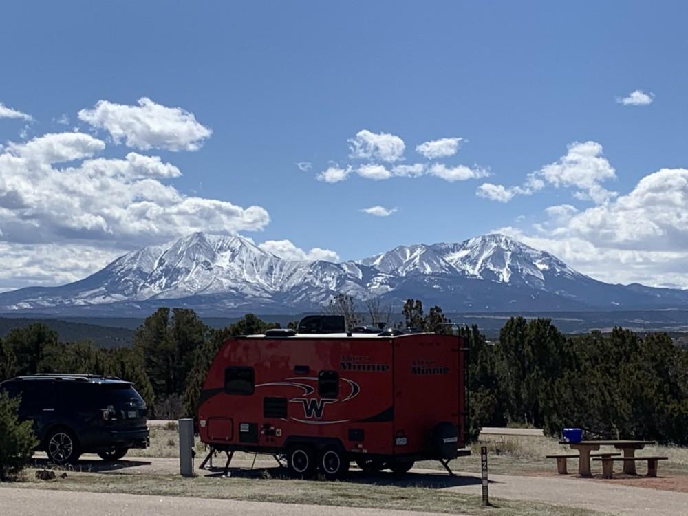 Camper at site